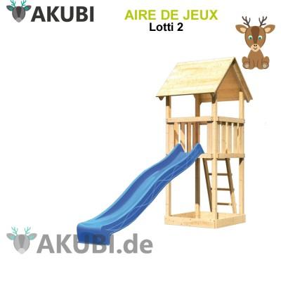 Aire de jeux bois enfant Lotti 2