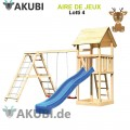 Aire de jeux bois enfant Lotti 4