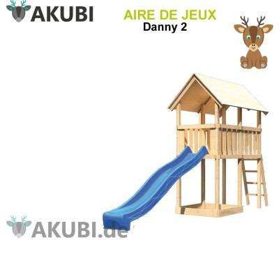 Aire de jeux bois enfant Danny 2