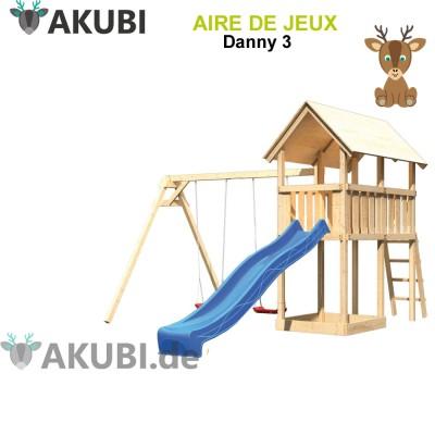 Aire de jeux bois enfant Danny 3