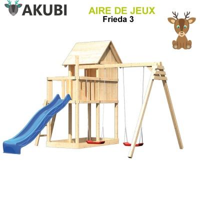 Aire de jeux bois enfant Frieda 3