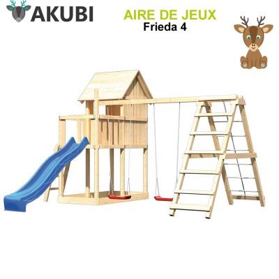 Aire de jeux bois enfant Frieda 4