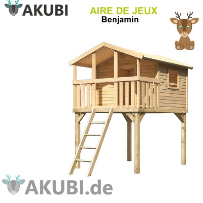 Cabane bois enfant Benjamin