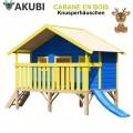 Cabane de jeux bois enfant Knusperhäuschen
