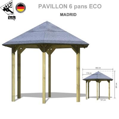 Pavillon de jardin bois Madrid