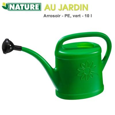 Arrosoir de jardin polyéthylène 10 litres