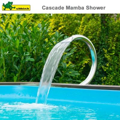 Cascade pour piscine Mamba Shower inox 316