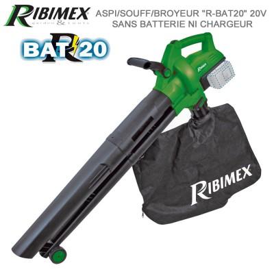 Souffleur Aspirateur Broyeur R-BAT20