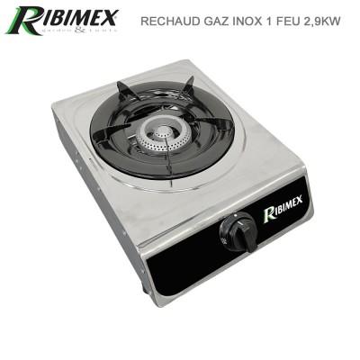 Réchaud gaz inox 1 feu - 2900 watt