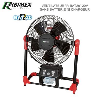 Ventilateur RBAT20 électrique et à batterie