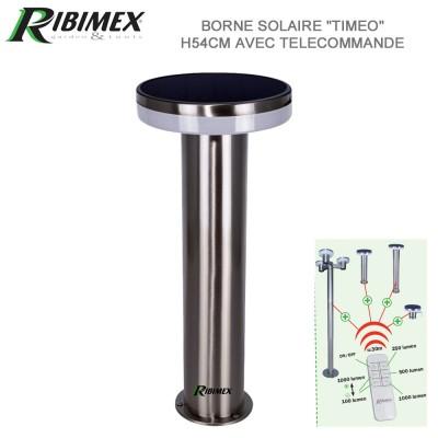 Borne solaire Timeo 54 cm à télécommande