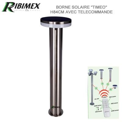 Borne solaire Timeo 84 cm à télécommande