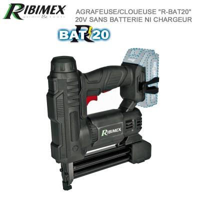 Agrafeuse/cloueuse sans fil 20 v R-BAT'20
