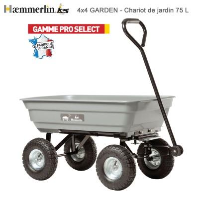 Brouette chariot de jardin 4X4 Garden