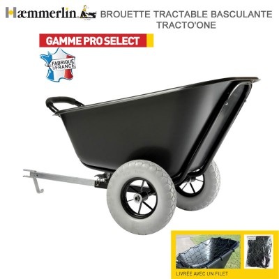 Brouette Tractable Tracto'one Plus