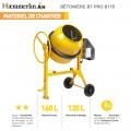 Bétonnière électrique BT PRO 170