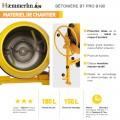 Bétonnière électrique BT PRO 190