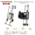 Monte-matériaux acier Castor Steel 150/20 - Couvreur 10 m