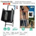 Monte-matériaux Maxial compact 175/20- Couvreur 10.50 M