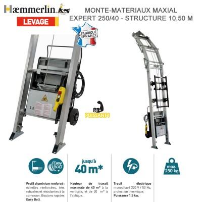 Monte-matériaux Maxial Premium 175/20- Couvreur 10.50 M - Nue