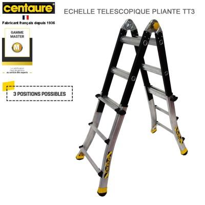 Échelle télescopique pliante TT3