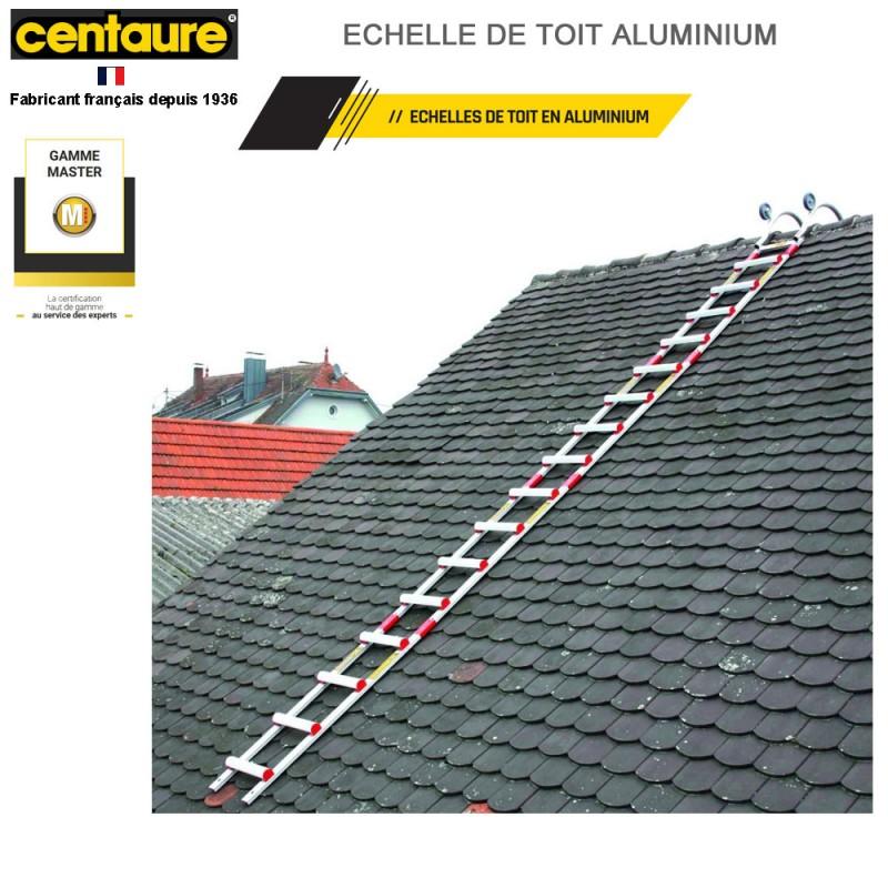 échelle de toit aluminium 6.25 m