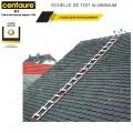 Échelle de toit aluminium Pack 25 cm - 6.25 m