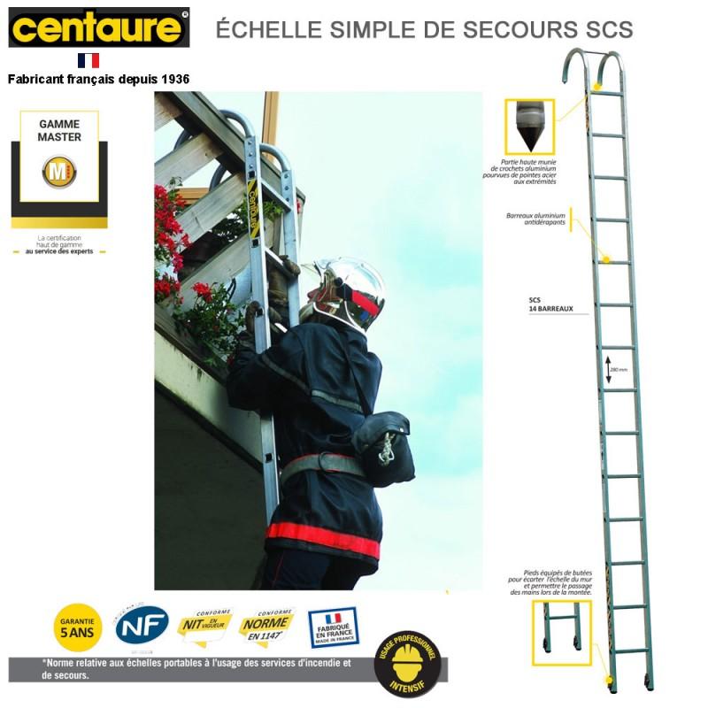 échelle de secours simple scs