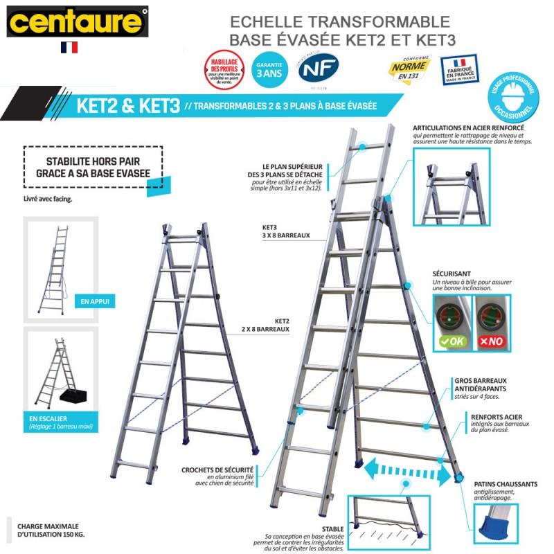 échelle transformable KET2