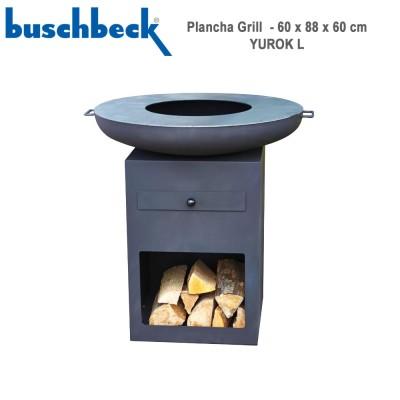 Brasero plancha grill Yurok L