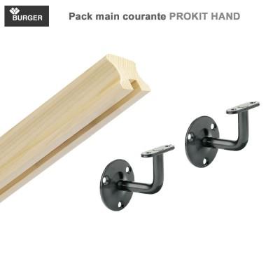 Main courante pack prêt à poser Prokit Hand