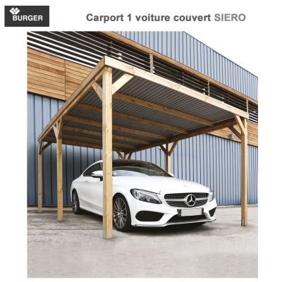 Carport 1 voiture couvert Siero