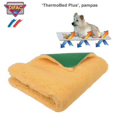 Couverture chien ThermoBed Plus pampas