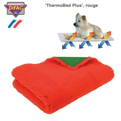 Couverture chien ThermoBed Plus rouge