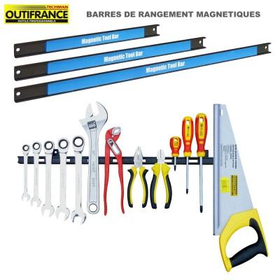 Barres de rangements magnétiques outils 3 pièces