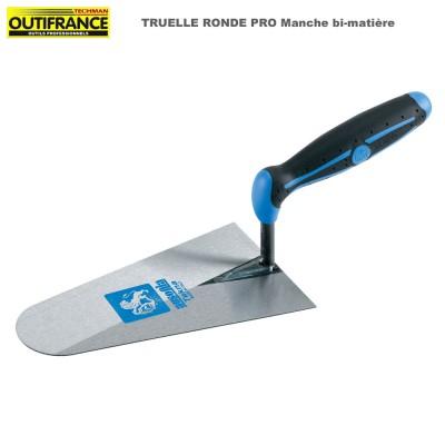 Truelle ronde Pro manche bi-matière - 22 cm
