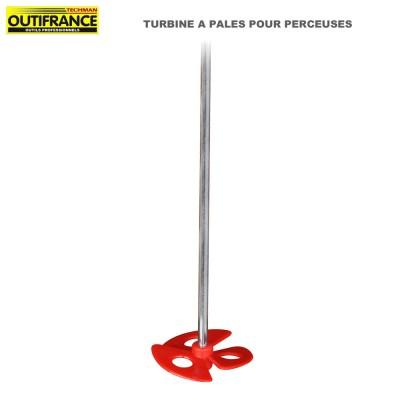 Tubine à pales pour perceuses - 60 mm