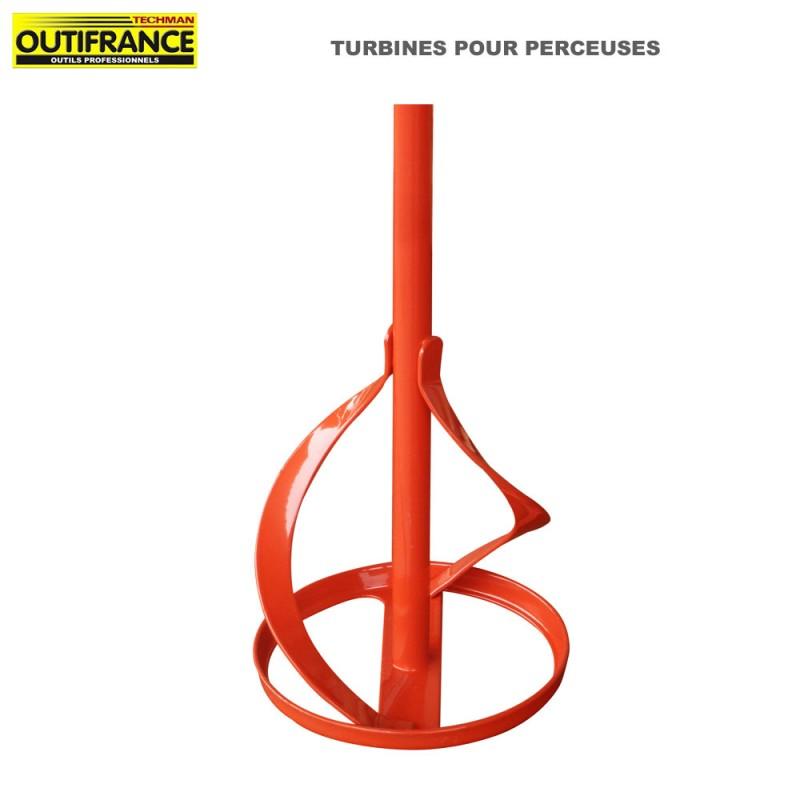 Tubine pour perceuses - 120 mm