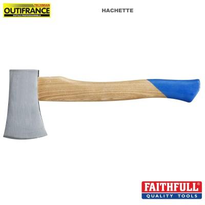 Hachette manche bois - 600 gr