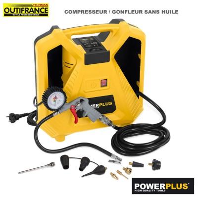 Compresseur gonfeur sans huile - 8 bar / 116 PSI