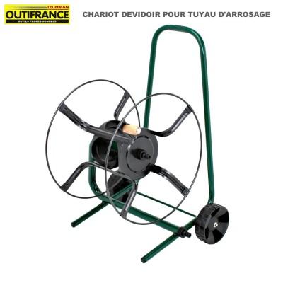 Chariot dévidoir pour tuyau d'arrosage