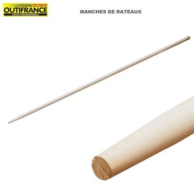 Manche de rateau en bois - 1.50 m