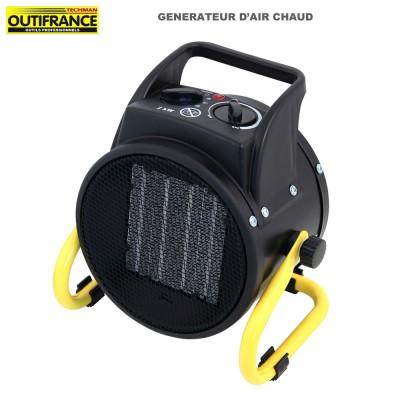 Générateur d'air chaud électrique 2000 W