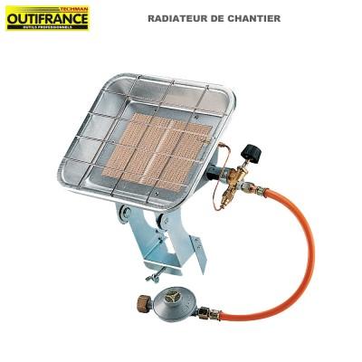 Chauffage au gaz de chantier d'extérieur  - 4.2 kW/h