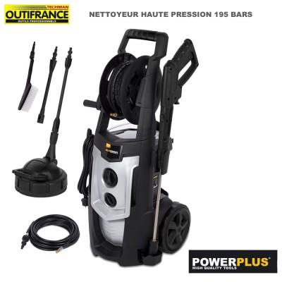 Nettoyeur haute pression 195 bars - 2500 W