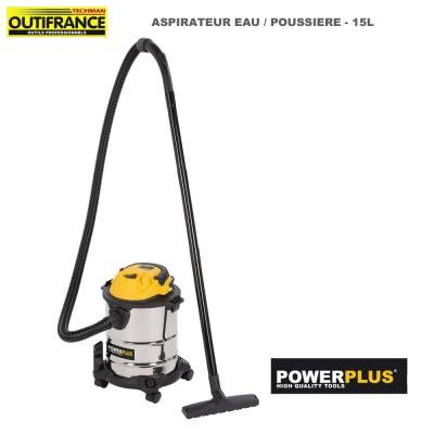 Aspirateur eau poussière 15 L - 1000 W