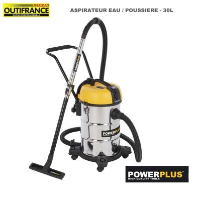 Aspirateur eau poussière 30 L - 1200 W