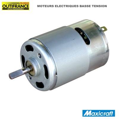 Moteur électrique basse tension - 6 à 12 V