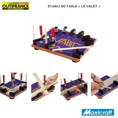 Établi de précision de table - Le Valet