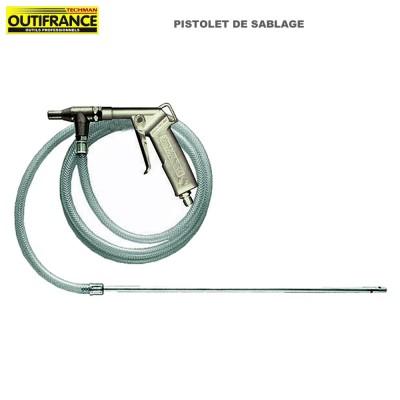 Pistolet de sablage pour compresseur - 5 à 8 bar